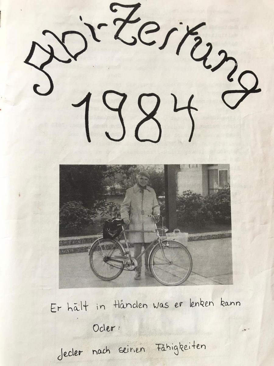 Abi Zeitung 1984